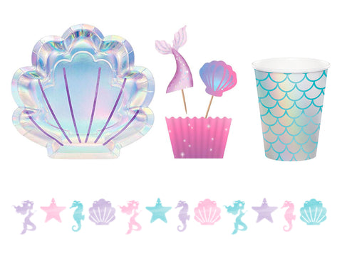Mermaid theme party supplies - The Party Room
