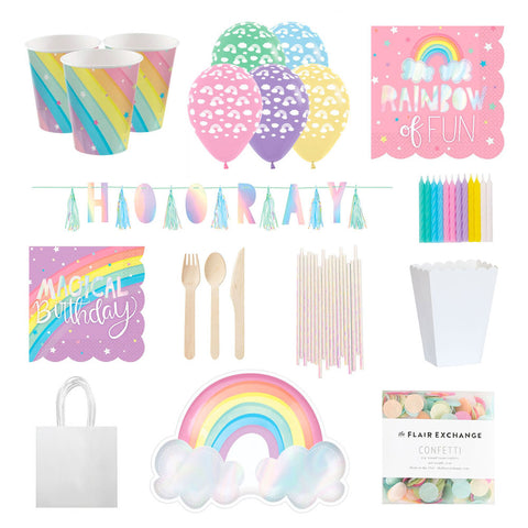 rainbow party supplies nz