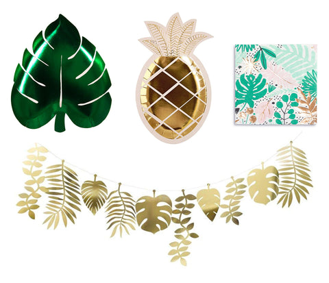 Tropical party supplies.- The Party Room