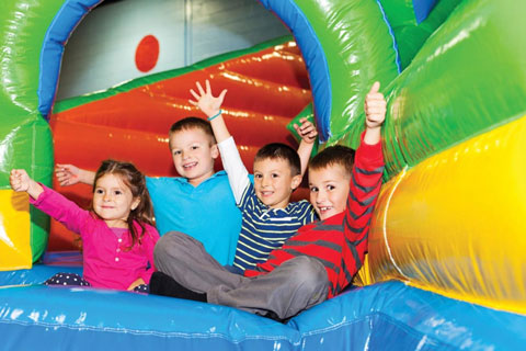 YMCA kids party