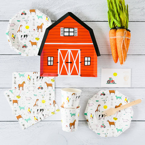 Farm party supplies - The Party Room
