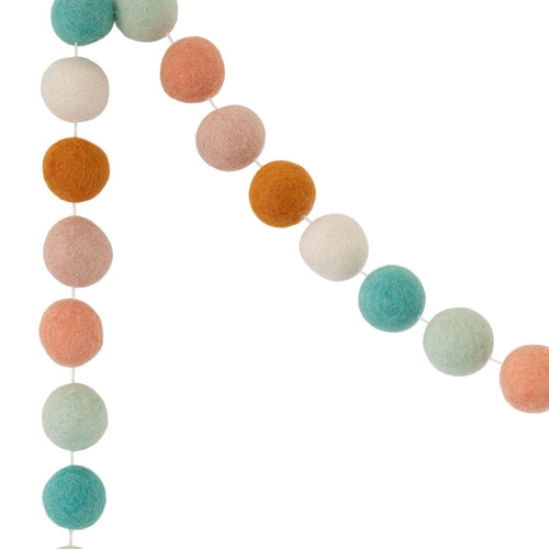 Felt Ball Garland | Candy - The Party Room