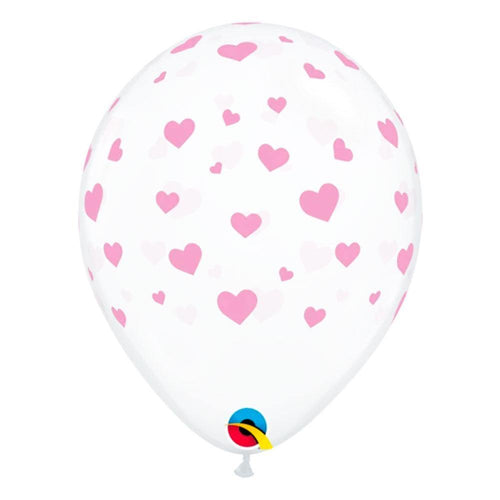 Light Pink Heart Balloons - The Party Room