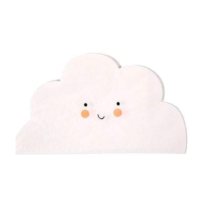 Happy Cloud Napkins - The Party Room