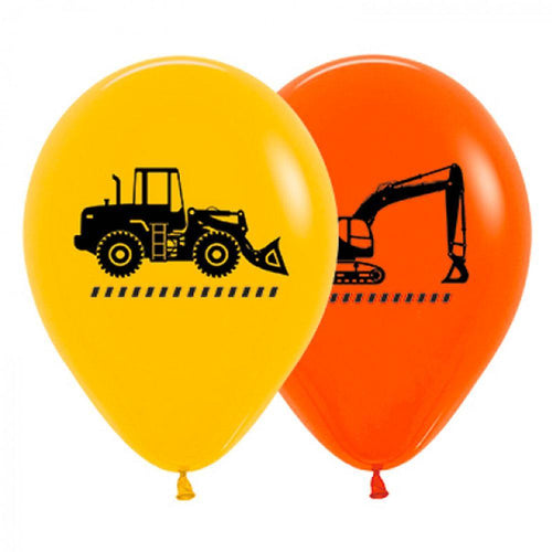 Construction Vehicle Balloons