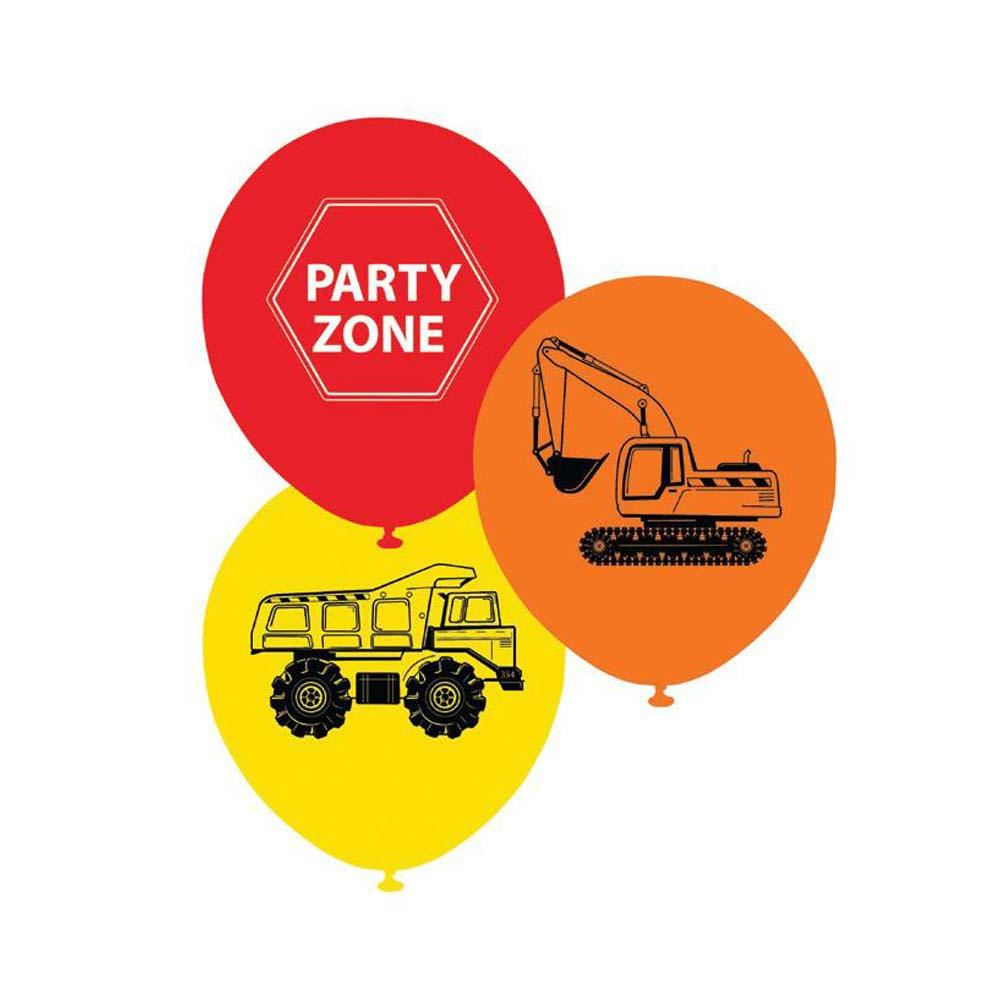 Construction Balloons - The Party Room