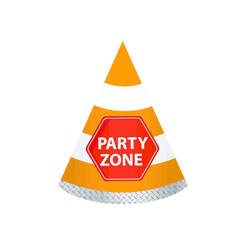 Construction Party Hats - The Party Room