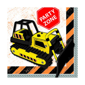 Construction Napkins - The Party Room