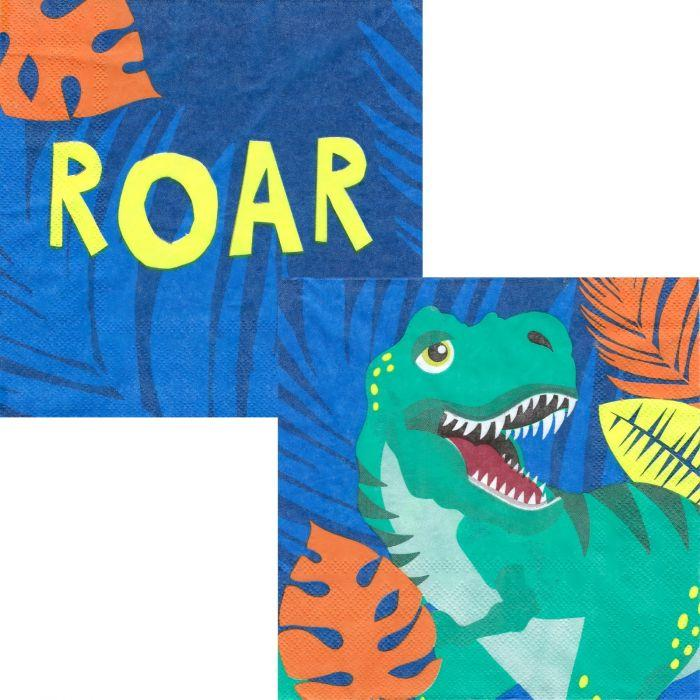 Dinosaur Napkins - The Party Room