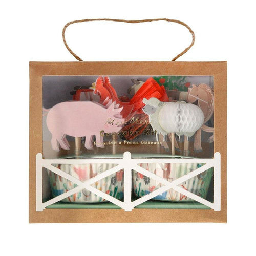 On The Farm Cupcake Kit - The Party Room