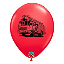 Load image into Gallery viewer, Fire Truck Balloons