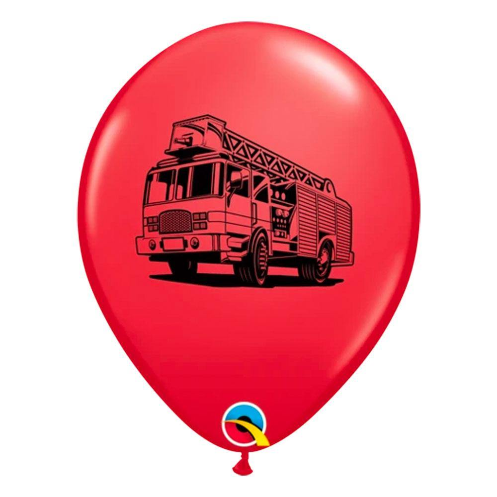 Fire Truck Balloons - The Party Room