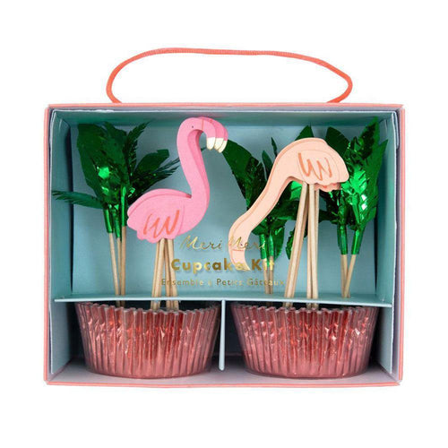 Flamingo Cupcake Kit - The Party Room