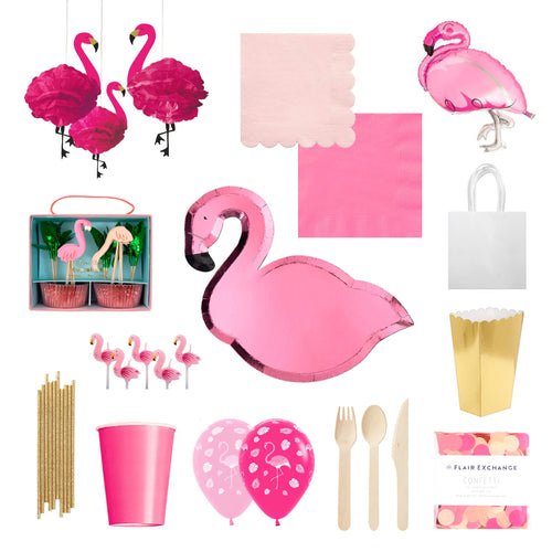 Flamingo Party Box - The Party Room