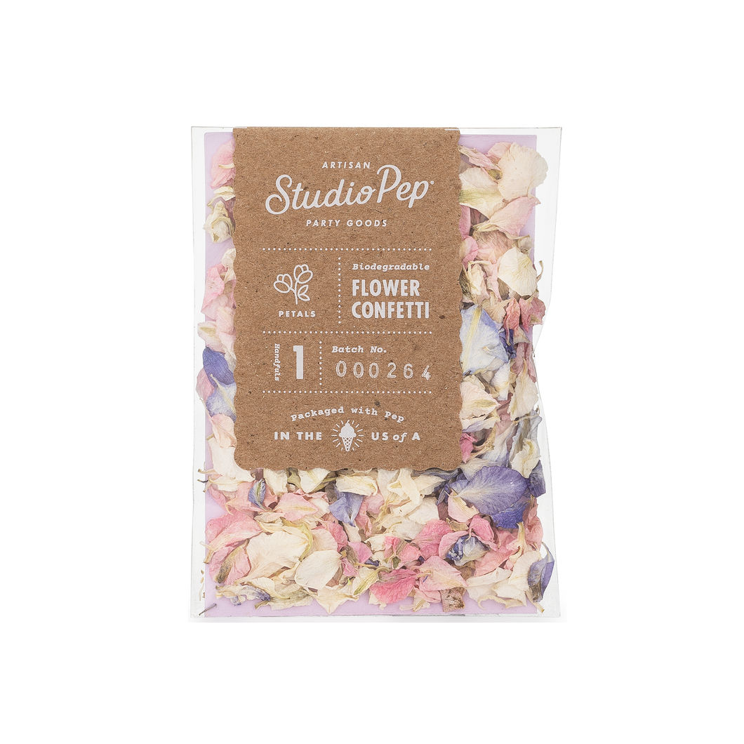 Flower Confetti Mini Pack | Bouquet - The Party Room