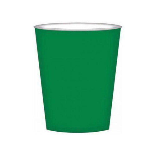 Forest Green Cups - The Party Room