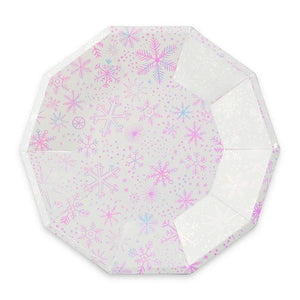 Large Frozen Plates - The Party Room