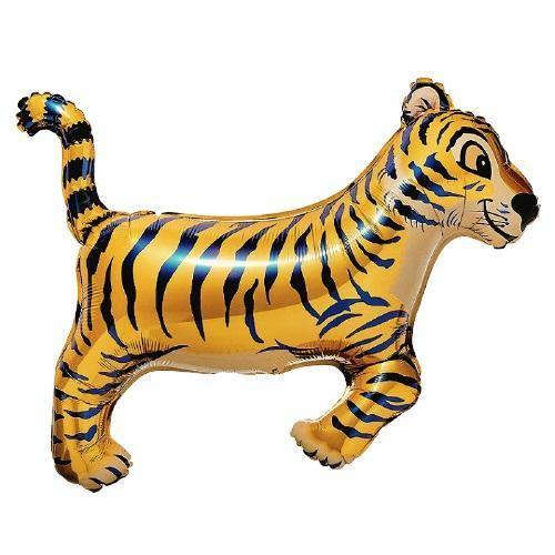 Jumbo Tiger Foil Balloon - The Party Room