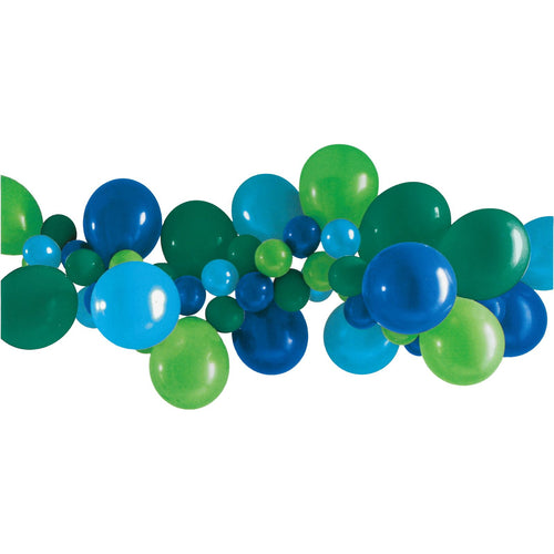 Balloon Garland Kit | Blue & Green - The Party Room