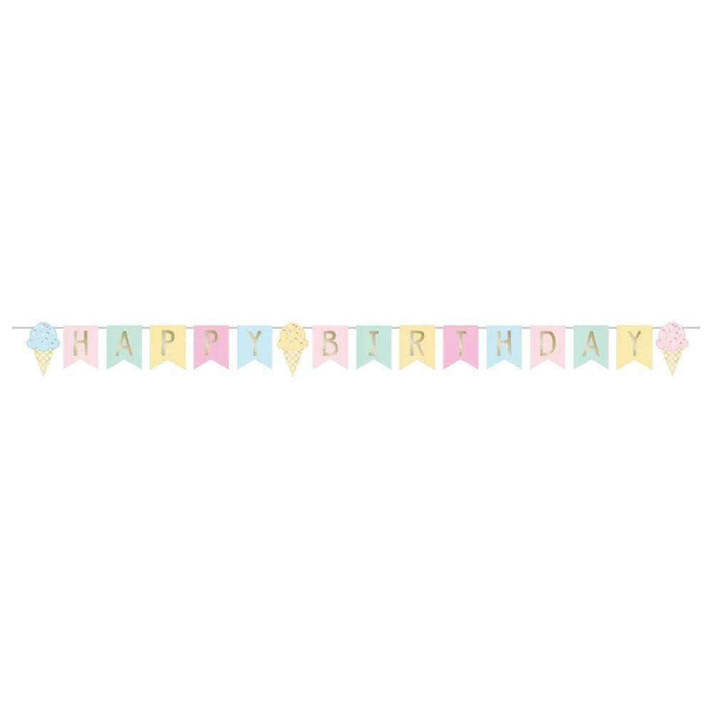 Ice Cream Banner - The Party Room