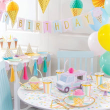 Load image into Gallery viewer, Ice Cream Banner - The Party Room