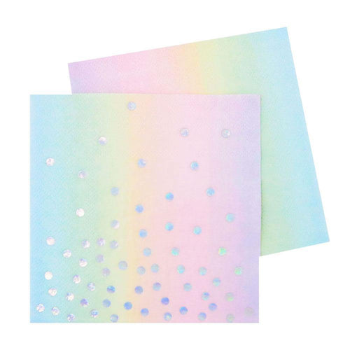 Iridescent Cocktail Napkins - The Party Room