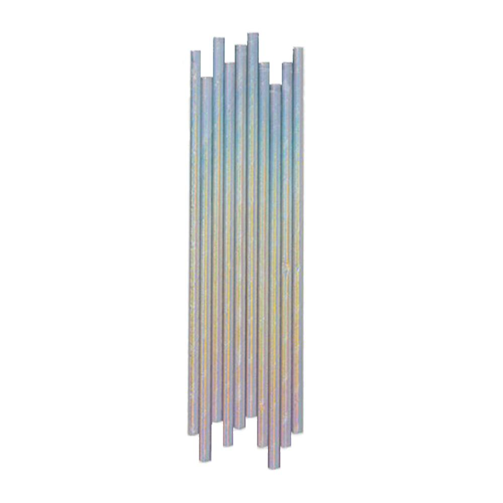 Silver Iridescent Paper Straws - The Party Room