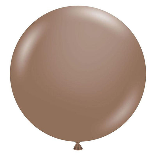 Large 60cm Cocoa Balloons - The Party Room
