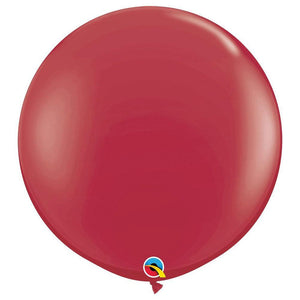 Large 90cm Maroon Balloons - The Party Room