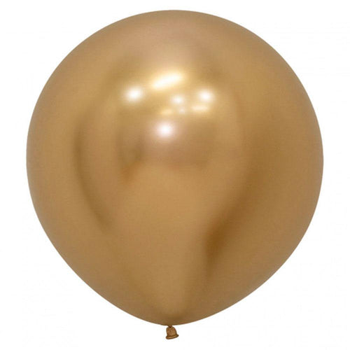 Large 60cm Metallic Gold Balloons - The Party Room