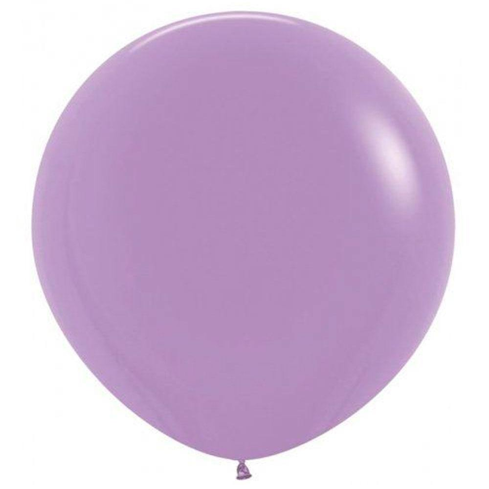 Large 90cm Lilac Balloons - The Party Room