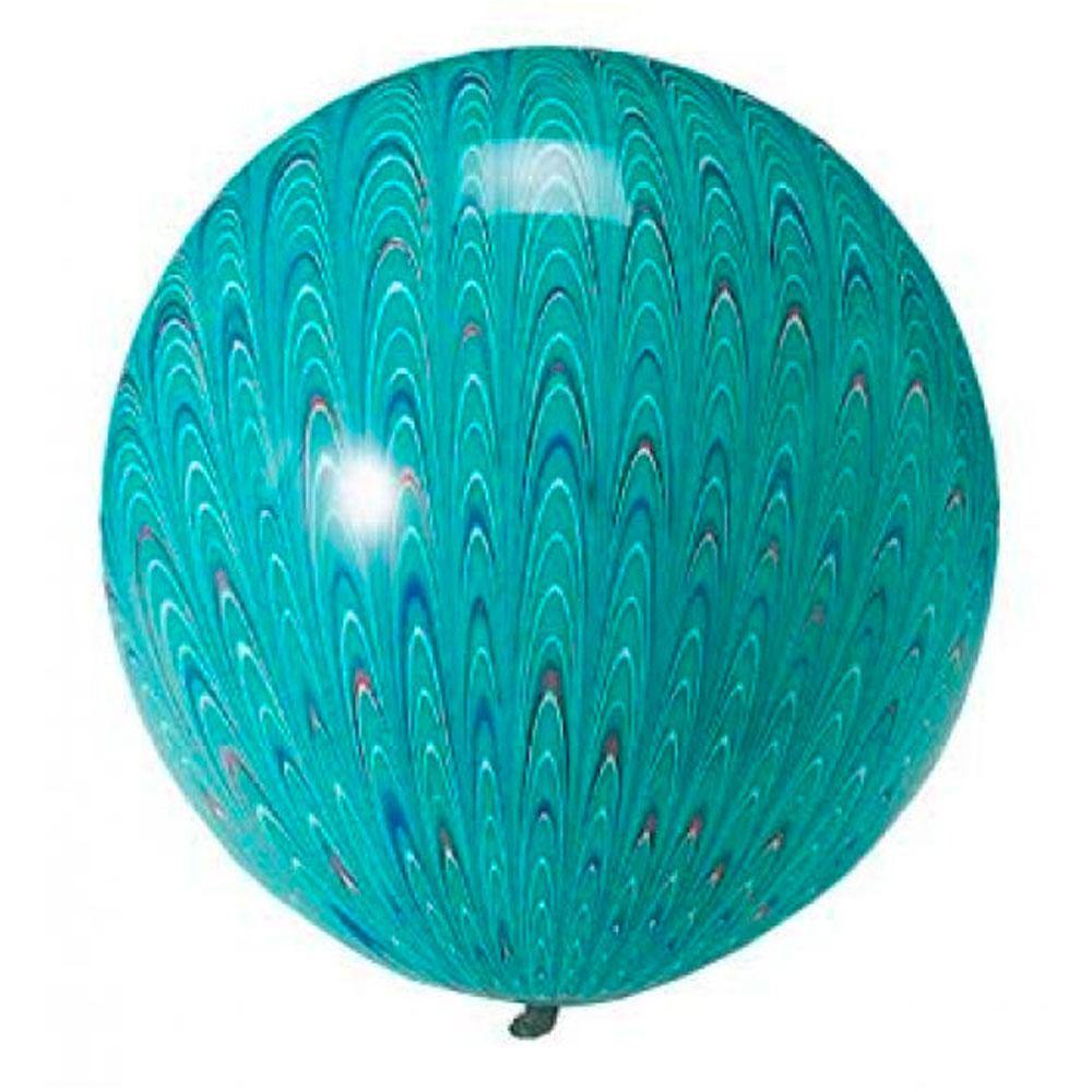 Large Peacock Teal Balloons - The Party Room