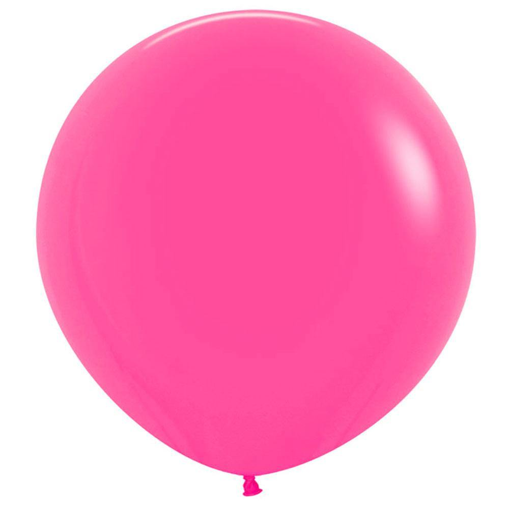 Large 60cm Fuchsia Balloons - The Party Room