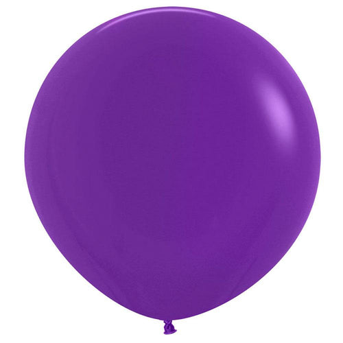 Large 60cm Purple Balloons - The Party Room