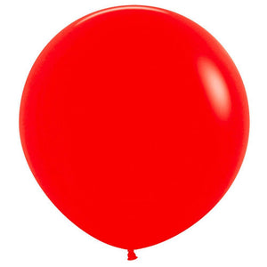 Large 60cm Red Balloons - The Party Room