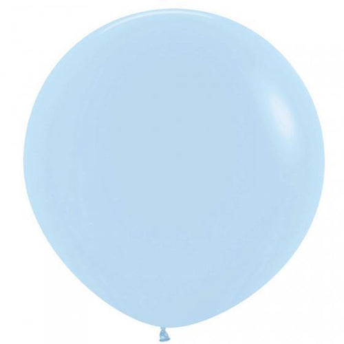 Large 60cm Pastel Blue Balloon - The Party Room