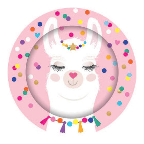 Llama Plates - The Party Room