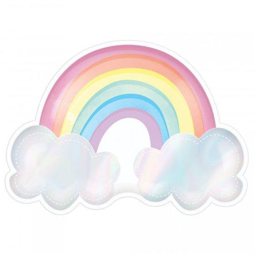 Magical Rainbow Plates - The Party Room