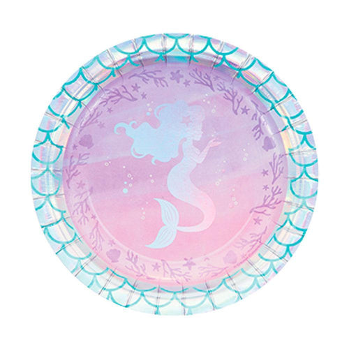 Mermaid Plates - The Party Room