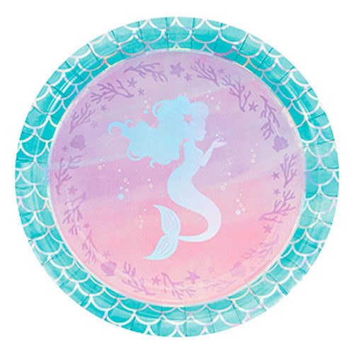 Mermaid Dinner Plates - The Party Room