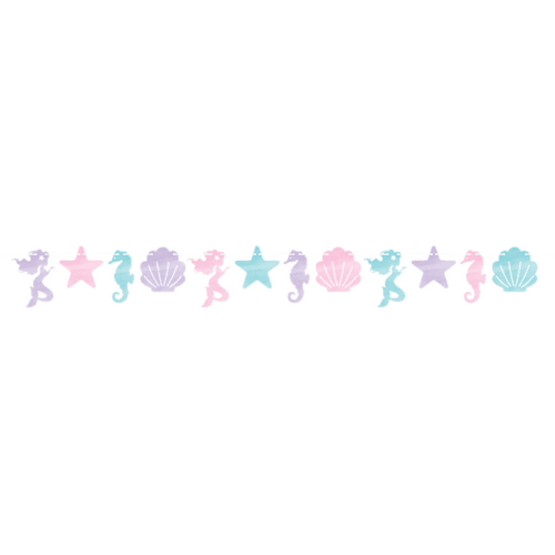 Mermaid Shine Iridescent Garland - The Party Room
