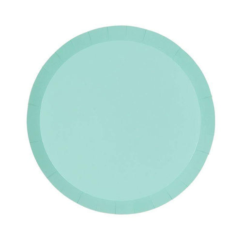 Pastel Green Plates - The Party Room