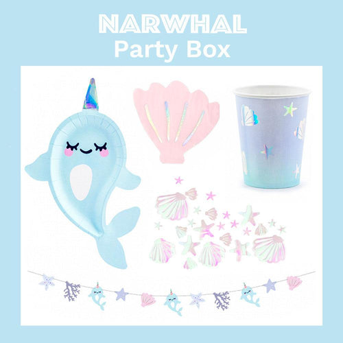 Narwhal Party Box - The Party Room