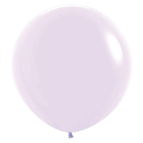 Large 90cm Pastel Purple Balloon - The Party Room