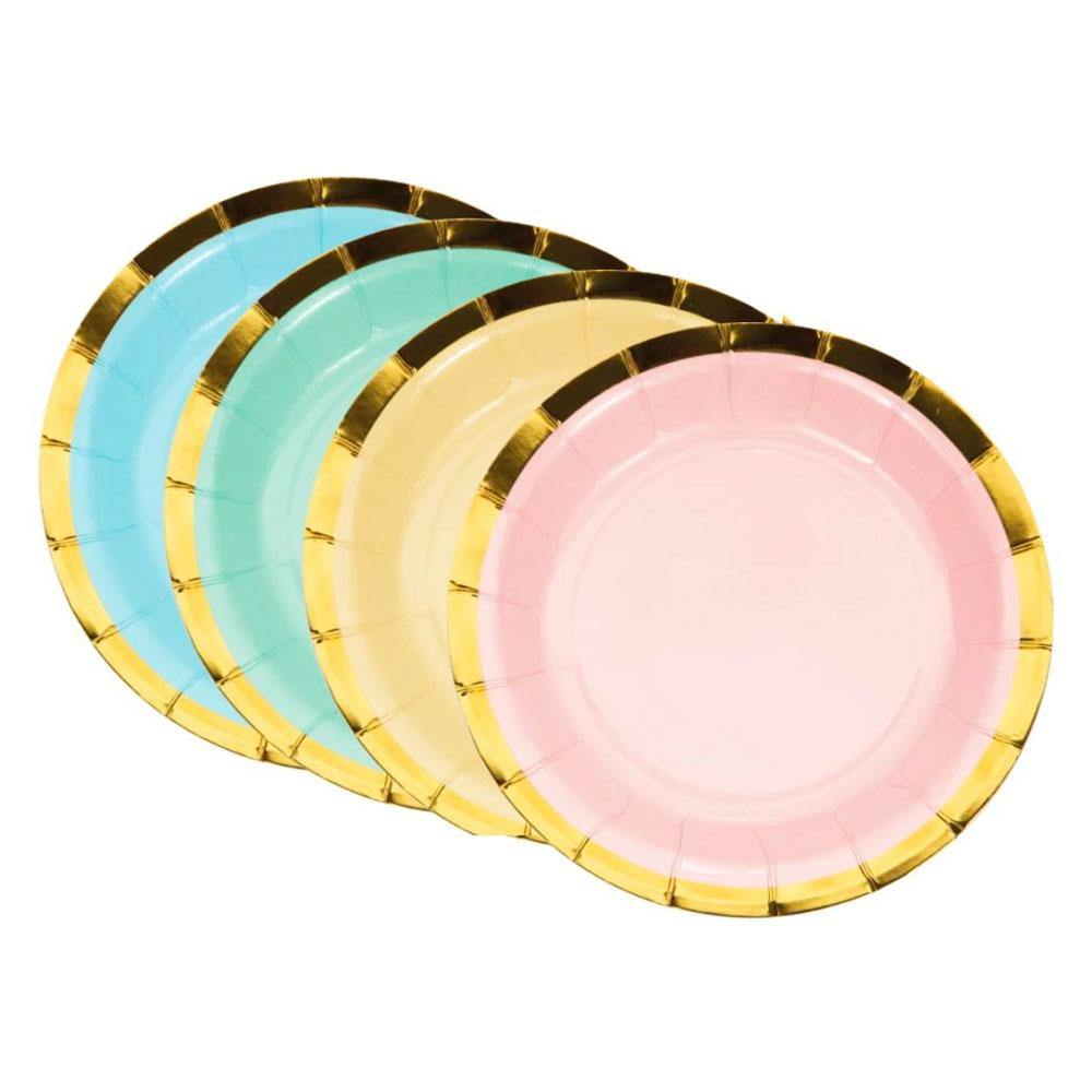 Pastel Lunch Plates