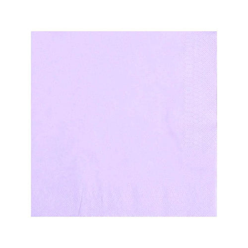 Pastel Lilac Napkins - The Party Room