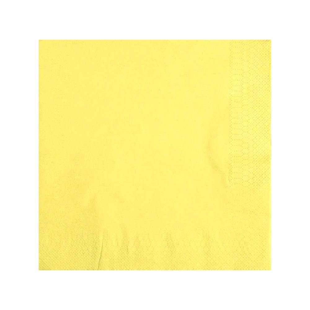Pastel Yellow Napkins