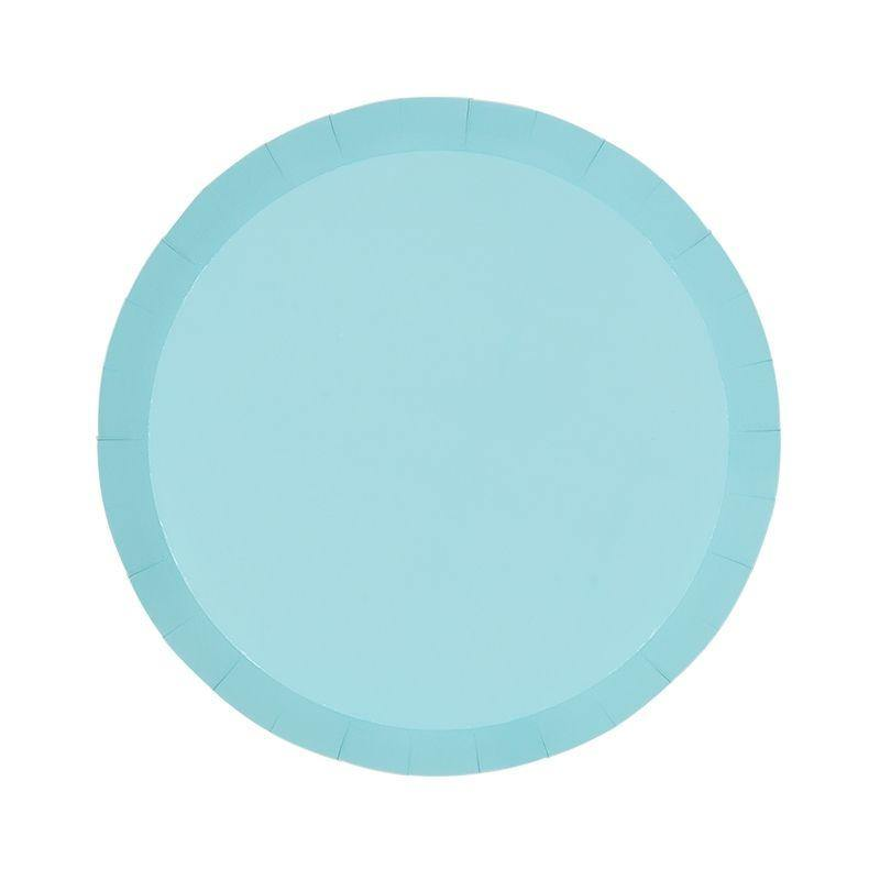 Pastel Blue Plates - The Party Room