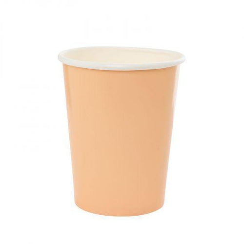 Pastel Peach Cups (10 Pack) - The Party Room
