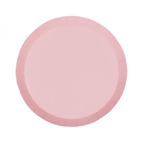 Pastel Pink Plates - The Party Room